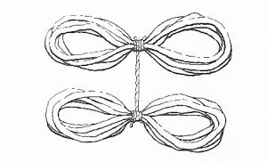 Yarn ball loops